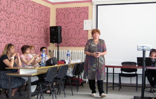 Prof. Dr. Tatjana Đurićová-Kuzmanovićová, jedna z prednášateliek na podujatí