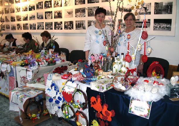 Spolok žien Slovenka z Hložian po druhýkrát organizuje veľkonočnú výstavu