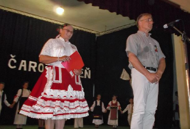Podujatie otvoril pán Samuel Žiak